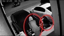 سرقة قطع جينيسس وعدد من السيارات في حي لبن بالرياض